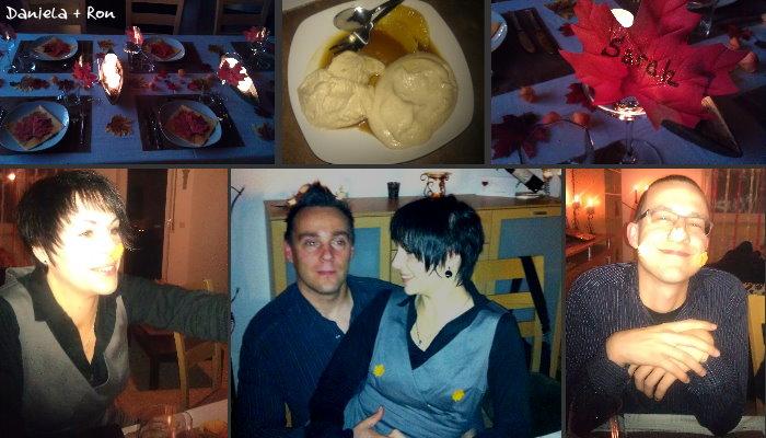 Dinner bei Daniela und Ron